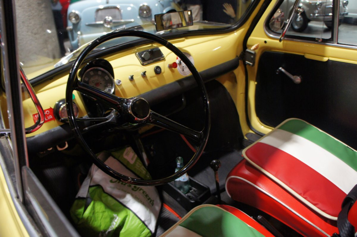 フィアット/アバルト/アルファロメオ松濤 5周年記念パーティーのヴィンテージ車